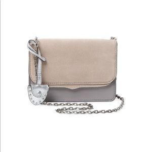 NWT Rebecca Minkoff  Mini Leather Crossbody Bag